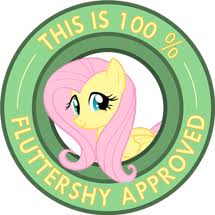 100 percent flutteshy approved