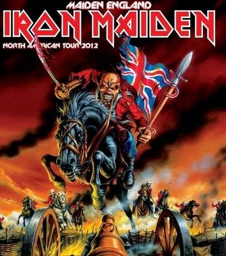 Iron Maiden پیپر وال with عملی حکمت called 2012 tour