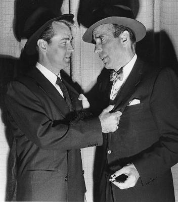 Alan Ladd & Humphrey Bogart