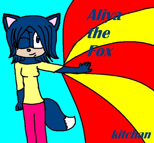 Aliya the Fox (Selfy OC)