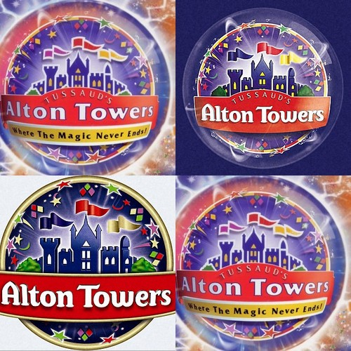 Alton Towers magic