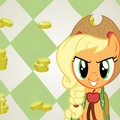 Applejack at the galla ipod/ipad wallpaper