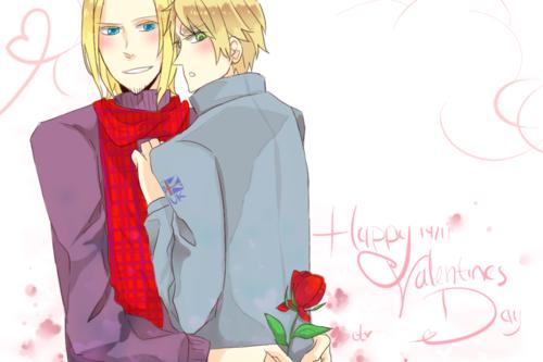 Arthur and Francis <3