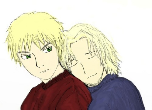 Arthur and Francis <3