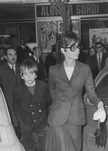 Audrey Hepburn & her son Sean