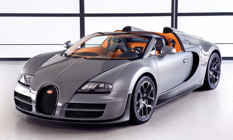 Bugatti Veyron 16 4 Grand Sport Vitesse Sports Cars