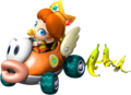 Baby गुलबहार, डेज़ी in Mario Kart Wii