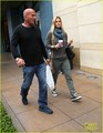 Bar Refaeli: Grove Shopping With Dad Rafael - bar-refaeli photo