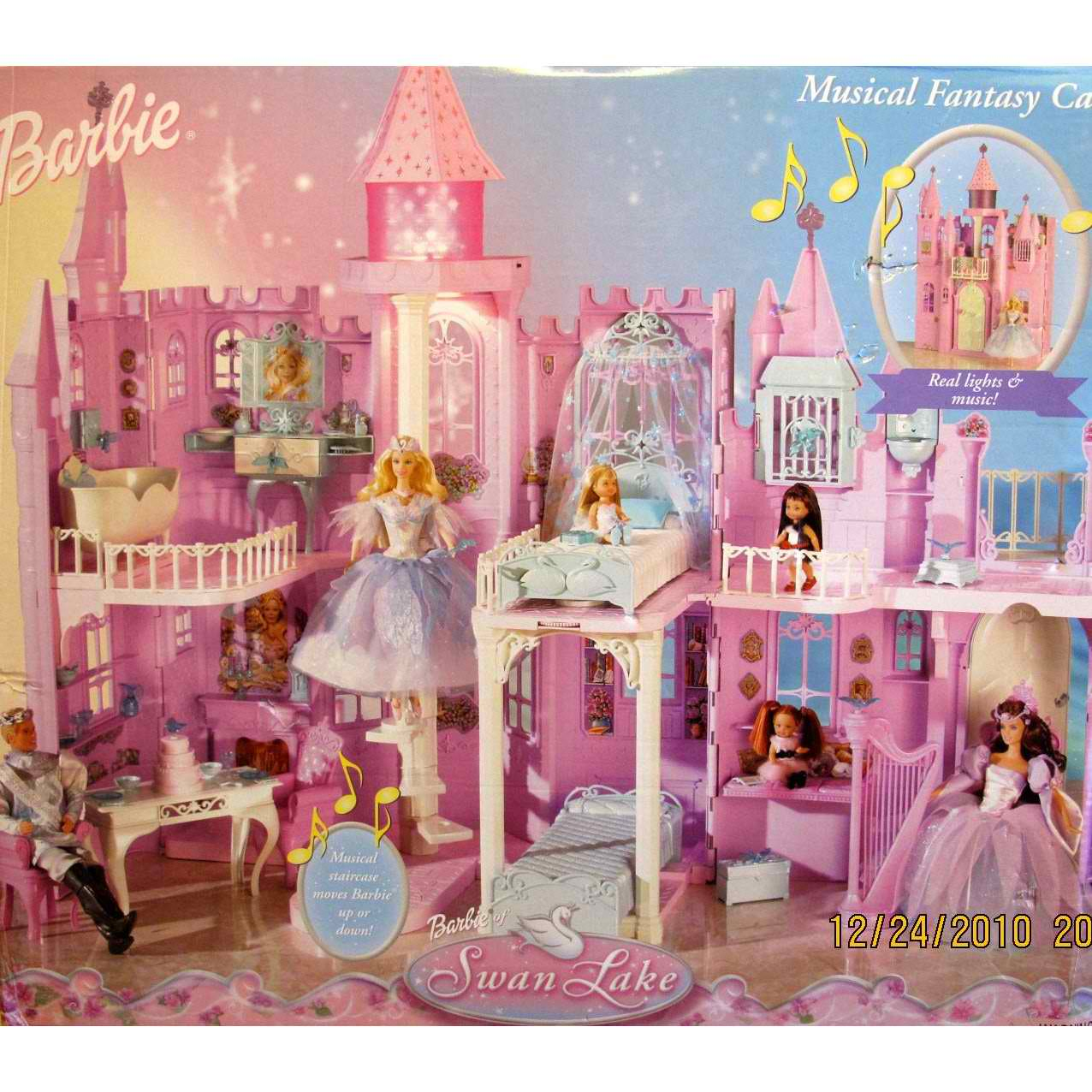 Barbie movies barbie of swan lake playset