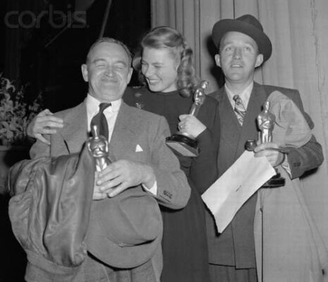 Barry Fitzgerald, Ingrid Bergman & Bing Crosby