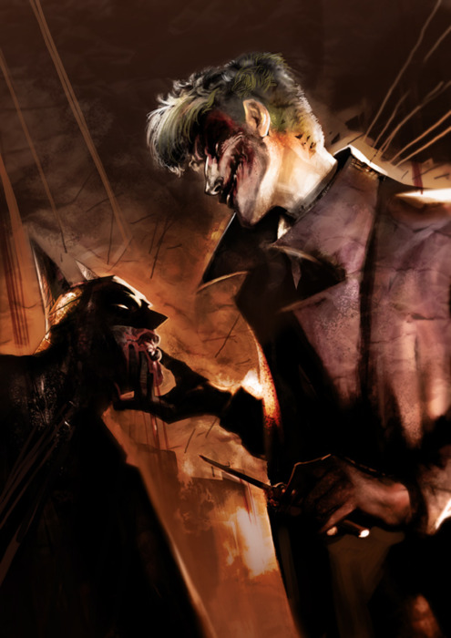 Gallery For gt Batman Kills Joker Fan Art
