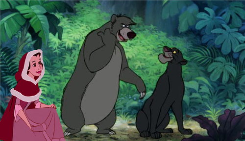 Belle, Baggie and Baloo