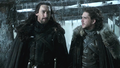Benjen Stark and Jon Snow