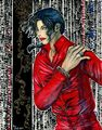 Blood on dance the floor in drawing - michael-jackson photo