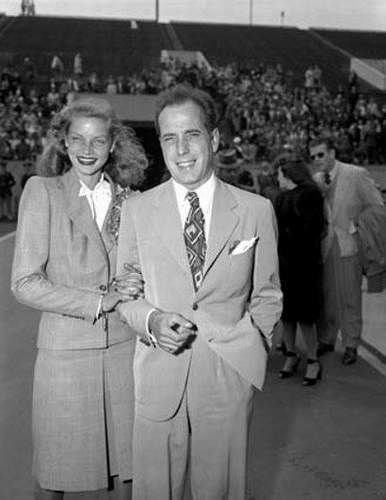 Bogie & Bacall 1945