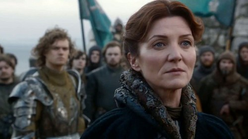 Catelyn Stark and Loras Tyrell