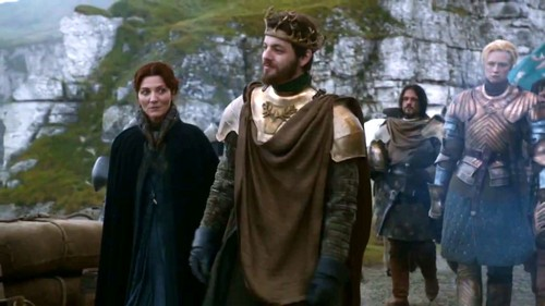 Catelyn Stark and Renly Baratheon