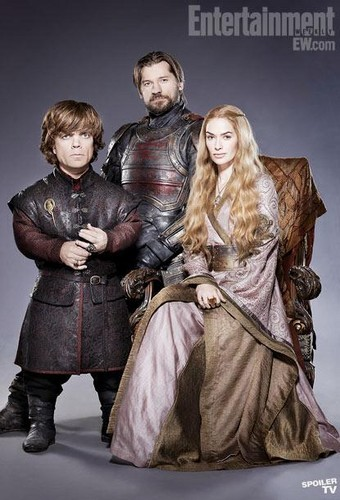 Cersei with Jaime and Tyrion