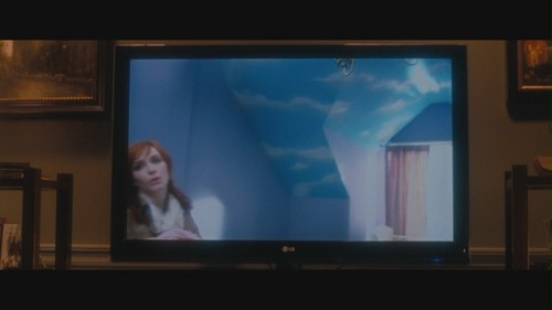 """क्रिसटीना हेंड्रिक्स वॉलपेपर possibly with a घर theater called Christina Hendricks in """"Life as We Know It"""""""