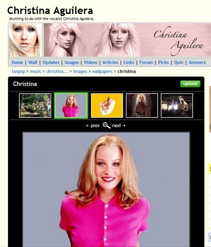 Christina but not Christina Aguilera ;_;