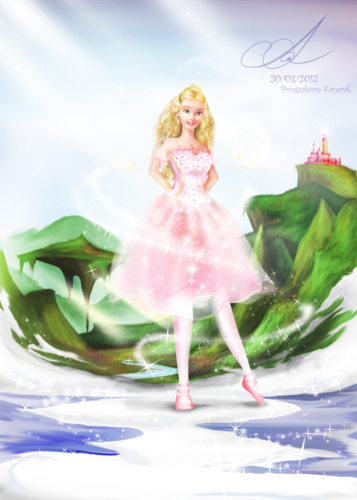 Clara -Nutcracker (fan art) - barbie-movies Fan Art