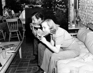 Clark Gable & Carole Lombard