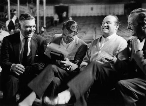 Clark Gable, Cary Grant, Bob Hope & David Niven