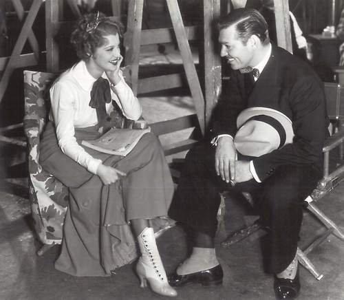 Clark Gable & Jeanette MacDonald