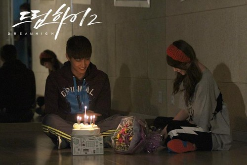 Dream High 2 wallpaper probably with a candle entitled JB & RIAN