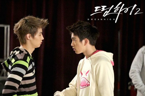 Dream High 2 wallpaper titled JB & JR
