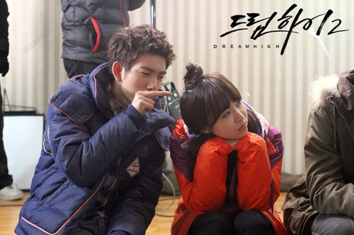 Dream High 2 fond d'écran entitled JR & Soon-Dong