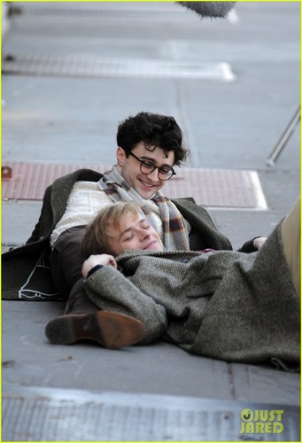 Daniel Radcliffe: Allen Ginsberg in 'Kill Your Darlings'!