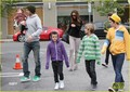 David & Victoria Beckham: Lunch with the Kids - david-beckham photo