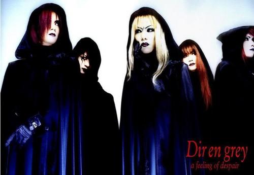 Dir en grey as an indie band (1998)