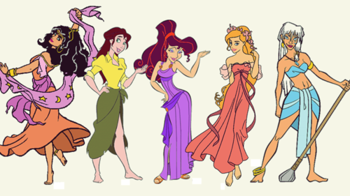Childhood Animated Movie Heroines wallpaper containing anime entitled Disney Heroines Lineup