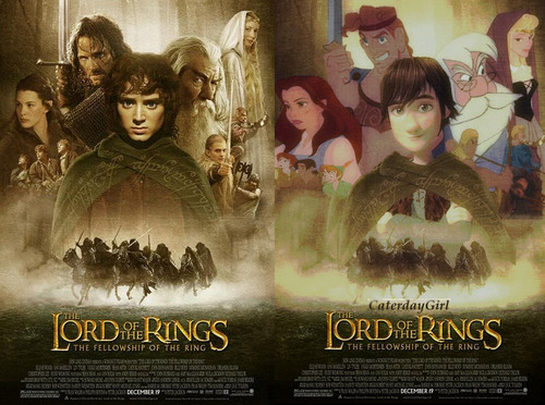 Дисней LOTR Poster(new version)