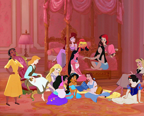 Дисней Princess Slumber Party