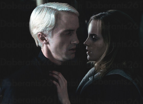 1000 images about draco malfoy on pinterest - Hermione granger and harry potter kiss ...
