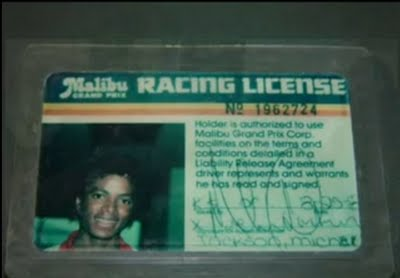 Driver's license MJ