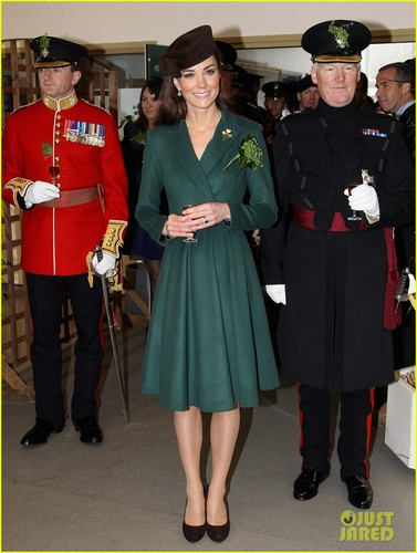 Duchess Kate: St. Paddy's दिन Parade