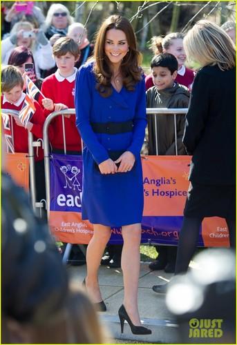 Duchess Kate Visits Children's Hospice