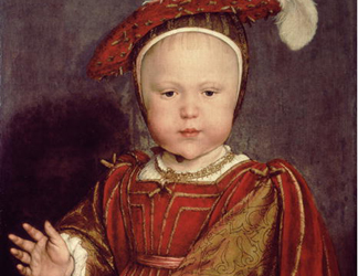 Edward VI (12 October 1537 – 6 July 1553)