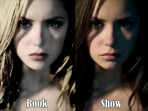 Elena in the book and Elena in the tv 显示