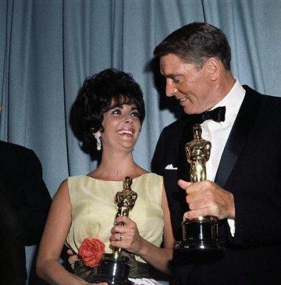 Elizabeth Taylor & Burt Lancaster 1961