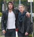 Emily VanCamp: St. Patrick's Day Stroll with Josh Bowman - emily-vancamp photo