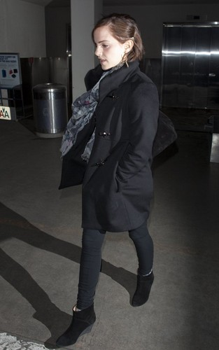 Emma at LAX Airport - March 18, 2012