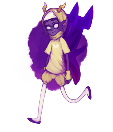 Eridan Ampora wallpaper probably with a bouquet entitled Eridan