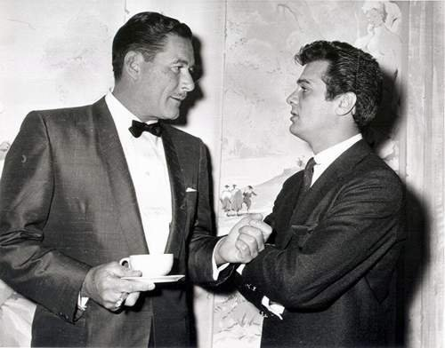 Errol Flynn & Tony Curtis
