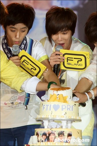FT Island's First Fanclub Establishment Party/ First Showcase