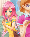 Fluttershy Humanized